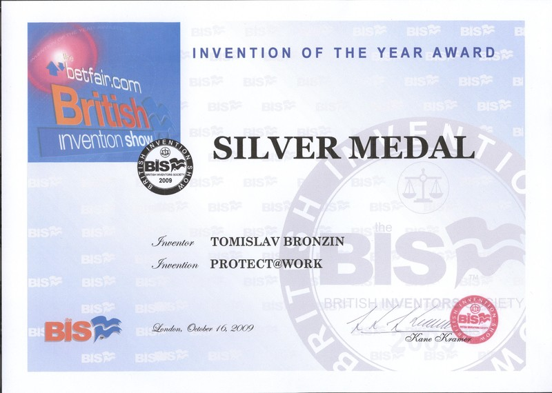 Srebrna medalja, BIS Velika Britanija 2009.