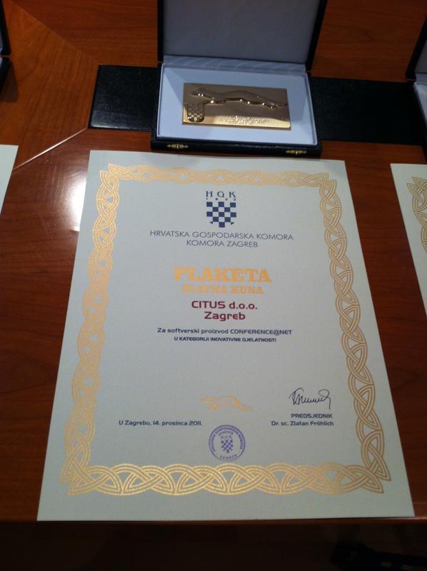 Zlatna kuna, HGK Hrvatska 2011.