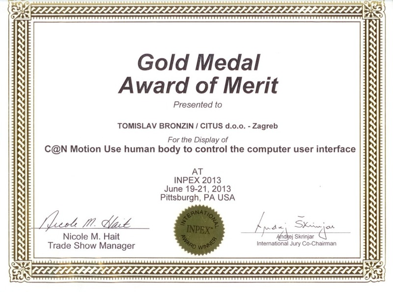 Gold Medal, INPEX USA 2013