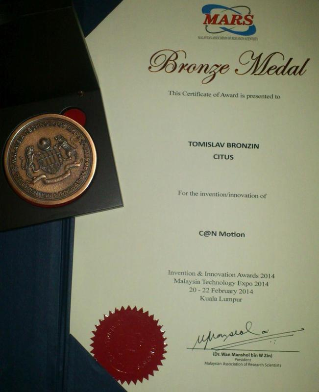 Bronze Medal, MTE Malaysia 2014