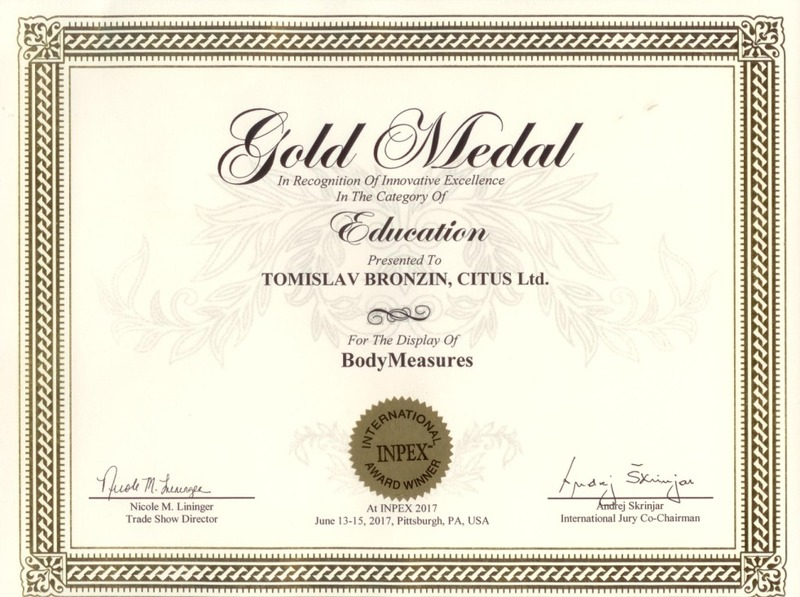 Zlatna medalja, INPEX SAD 2017.