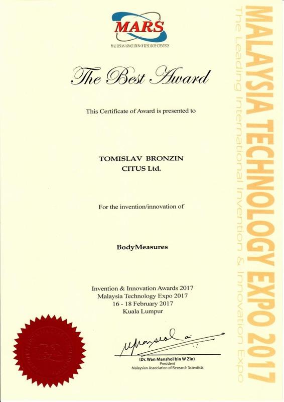The Best Award, MTE Malazija 2017.