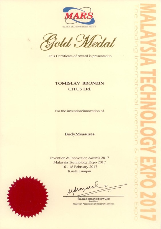 Zlatna medalja, MTE Malazija 2017.