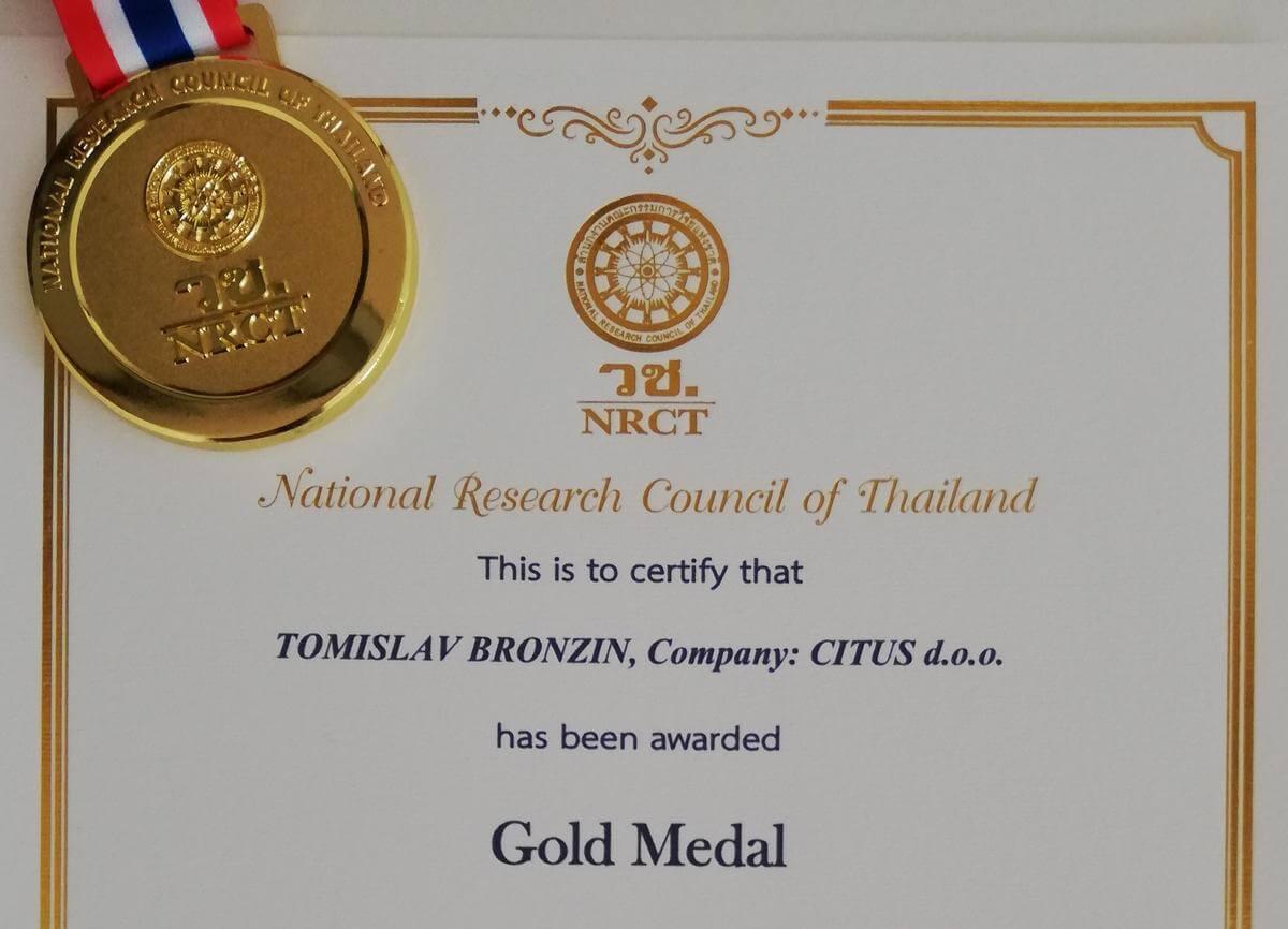 IPITEX 2019 - zlatna medalja