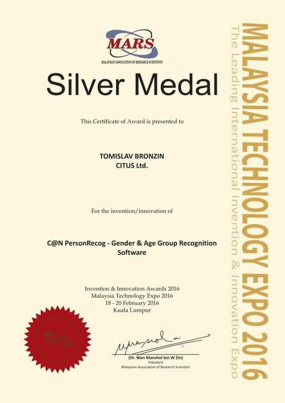 Srebrna medalja, MTE Malezija 2016.